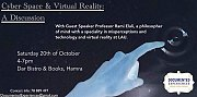 Cyber Space & Virtual Reality: A Discussion