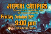 Jeepers Creepers | Pajamas Horror Stories Night