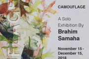 CAMOUFLAGE - A Solo Exhibition By Brahim Samaha
