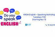 KNOW English - Speaking Workshop