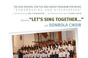 """LET'S SING TOGETHER..."" with SONBOLA CHOIR"