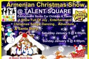 Armenian Christmas Show @ Talent Square Edutainment Studio