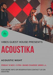Friday Night featuring ACOUSTIKA