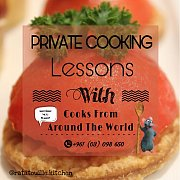 Private Cooking Lessons at your kitchen