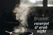Escargot & Arak Night at L'atelier du Miel