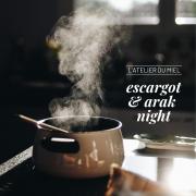 Escargot & Arak Night at L'atelier du Miel