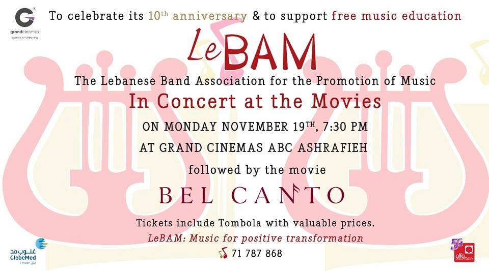 Instrumental Concert and Movie from Lebam Music Association