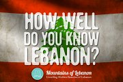 Lebanon Quiz Night