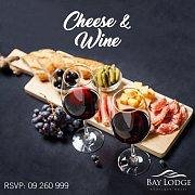 Cheese & Wine at Bay Lodge Boutique Hotel!