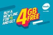 Free 4GB offer!