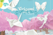 Kids Origami Workshop at Le Lilas Flower Lounge