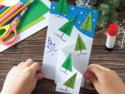 Kids and Teens Christmas Card Workshop
