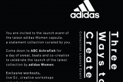 The Launch Event of Adidas Women Latest Collection
