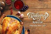 Thanksgiving at Le Telegraphe de Belle-Vue
