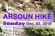 ARSOUN HIKE with Rovers Lebanon