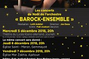 "Barock-Ensemble: ""les concerts de Noël"" at Église Mar Zakhia"