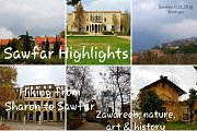 Sawfar Highlights, Hiking from Sharon to Sawfar & Winery Visit with GREEN STEPS