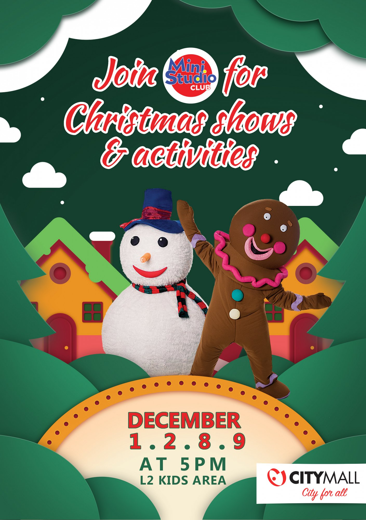 Christmas Shows at CityMall « Lebtivity