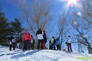 Qanat Bakish Snowshoeing with Vamos Todos