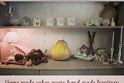 Handmade Furniture Meets Homemade Cakes
