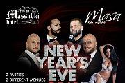 New Year's Eve 2018 at Massabki Hotel