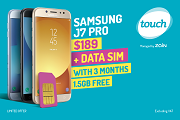 Samsung + FREE Data