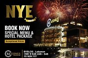 NYE 2019 Dine and Stay @ Maximus Hotel