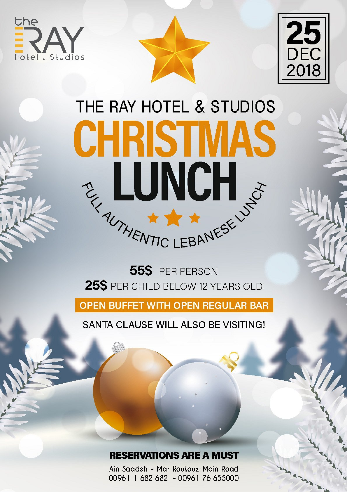 Christmas Lunch at The Ray Hotel « Lebtivity