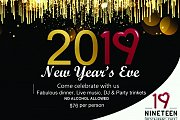 New Year Eve at 19 Restaurant