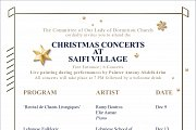 Christmas Concerts at Saifi village