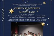 Lebanese folklore Christmas Carols part of Christmas Concerts at Saifi village