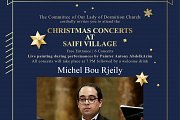 Baroque Opera and Christmas Songs by Michel Bou Rjeily Part of Christmas Concerts at Saifi village