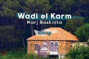 Wadi el Karm & Marj Baskinta Hike | HighKings