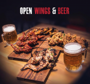 Open Wings & Beer at 5Chicks&Co