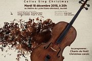 "Beirut Cello Ensemble: ""Cellos Sing Christmas"""