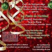 'La Fiesta de Navidad' at La Tiendita Ashrafieh Tabaris Boutique