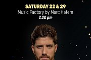 Marc Hatem Performing at CityMall's Christmas Market