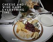 Cheese & Wine at Riviera Hotel & Beach Lounge