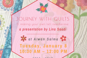 Journey with Quilts + Felt Needle Case Workshop at Alwan Salma