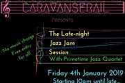 The Late-night Jazz Jam Session with Primetime Jazz Quartet