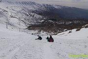 Qornet Sawda Snowshoeing with Vamos Todos