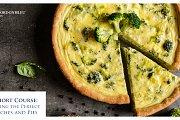 Quiches & Pies Short Course at Le Cordon Bleu Lebanon