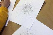 Geometric and Illustrative Drawing at Alwan Salma