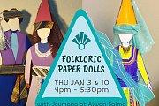 Folkloric Paper Dolls at Alwan Salma