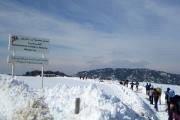 Baldati Snowshoeing in Tannourine