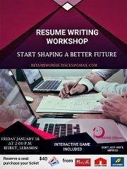 Resume Writing Hacks Workshop