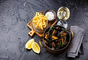 Moules & Frites Night every Saturday at Hemingway's Lounge