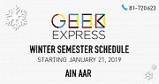 Geek Express Winter Semester - Ain Aar