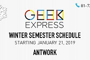 Geek Express Winter Semester - Antwork