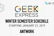 Geek Express Winter Semester - Antwork